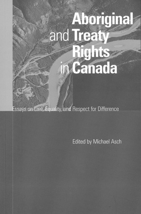 Aboriginal and Treaty Rights in Canada