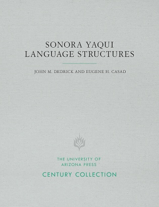 Sonora Yaqui Language Structures
