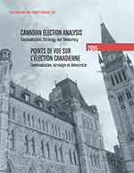 Canadian Election Analysis 2015 Cover
