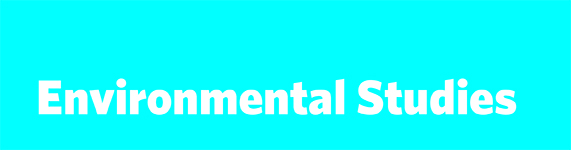 Environmental Studies Catalogue Banner