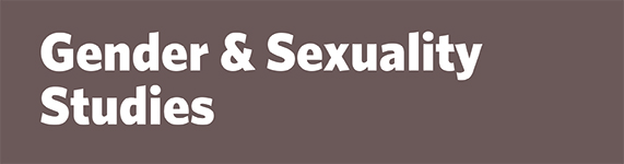 Gender and Sexuality Studies Banner