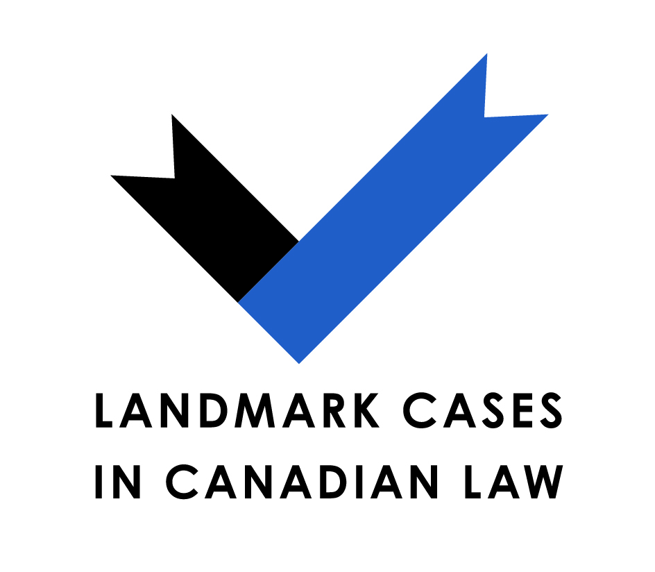 UBC - Series Logos - Landmark Cases in Canadian Law logo