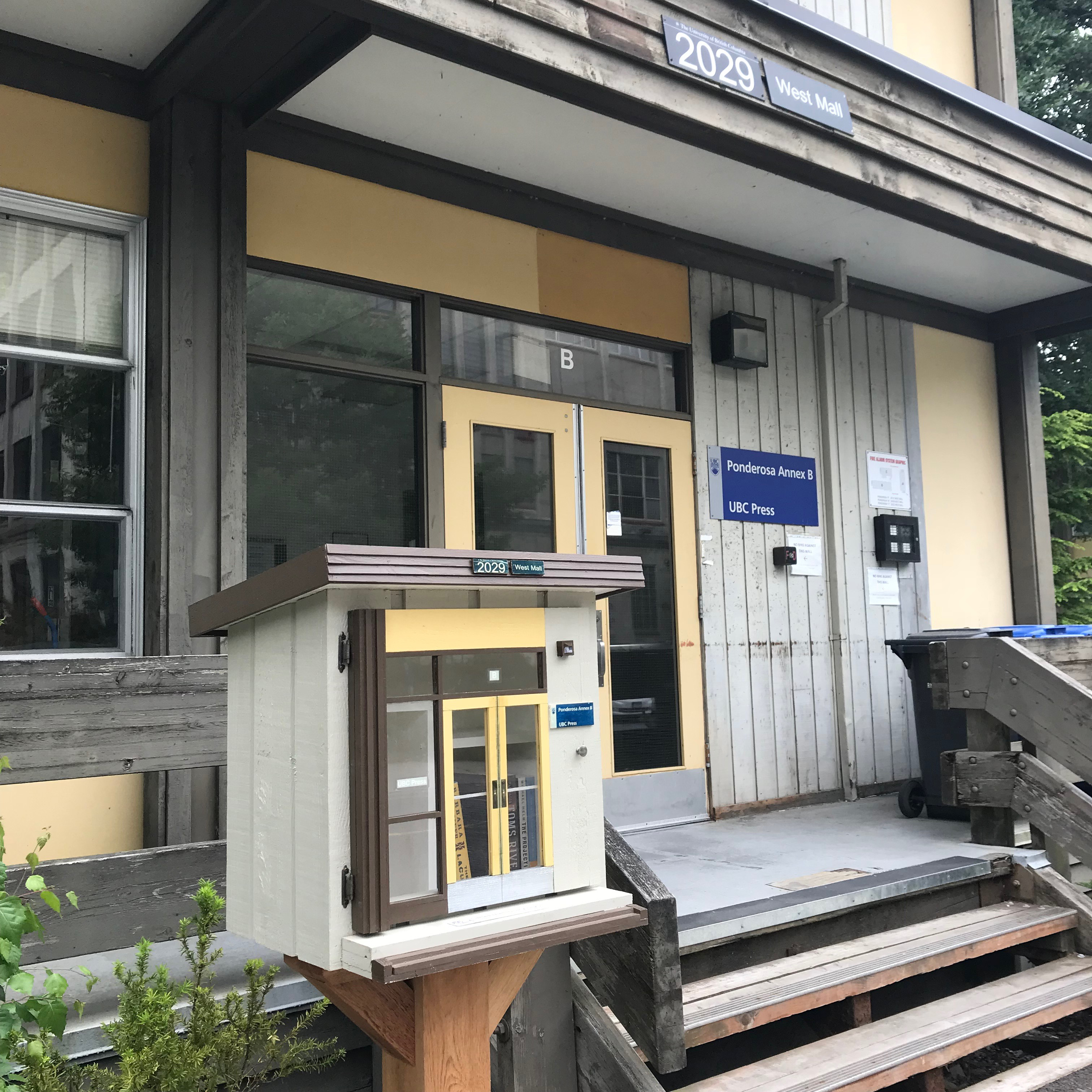 UBC - Blog - Little Free Library - Outside