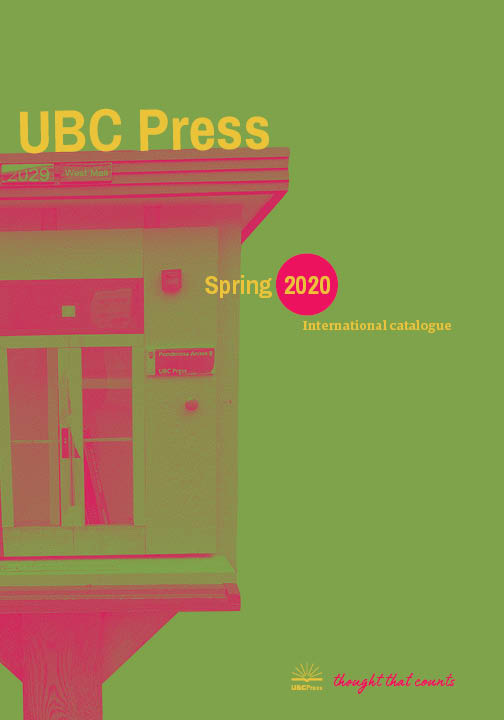 Spring 2020 Catalogue Cover International
